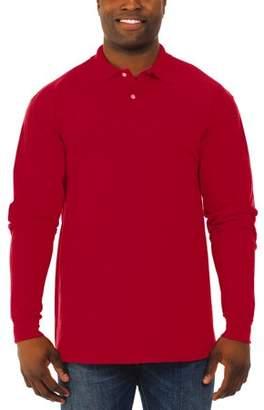 Polo Ralph Lauren JERZEES Men's SpotShield Long Sleeve Shirt