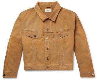 Fear Of God Cotton-Canvas Trucker Jacket - Men - Brown