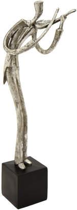 Three Hands Corp Silver-Tone Musician Figurine