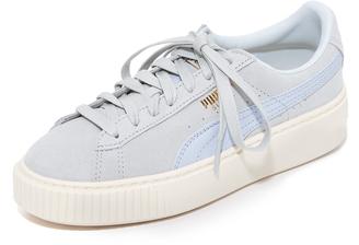 PUMA Suede Platform Core Sneakers $100 thestylecure.com