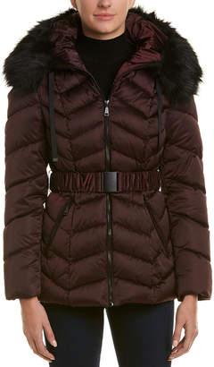 T Tahari Leon Puffer Coat