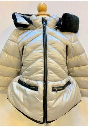 Mayoral Silver Puffer Jacket