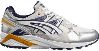 Asics silver metallic, white and purple X naked kayano 1 sneakers