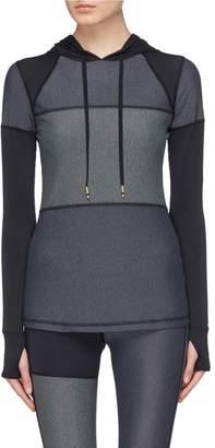 Alala 'Patchwork' colourblock hoodie