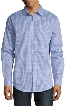 Van Heusen Long-Sleeve Woven Button-Down Shirt