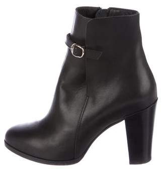 Vanessa Seward Leather Ankle Boots
