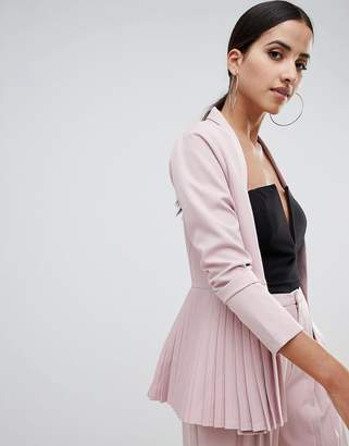 Missguided Pleated Blazer