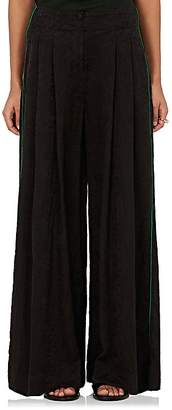Raquel Allegra Women's Silk Jacquard Pajama Pants