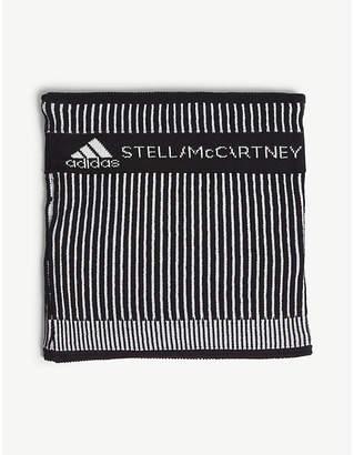 adidas by Stella McCartney Striped neckwarmer