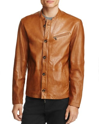 John Varvatos Star USA Leather Moto Jacket - 100% Exclusive $798 thestylecure.com