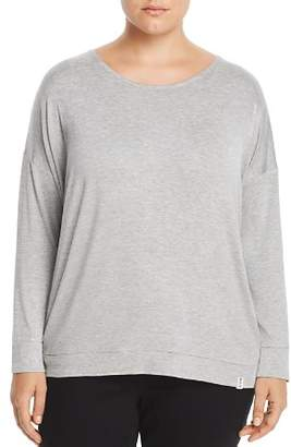 Andrew Marc Plus Back-Cutout Top