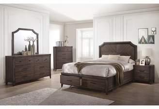 Gracie Oaks Vicknair Storage Platform Bed