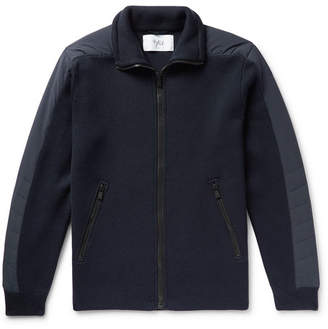 Aztech Mountain Bear Paw Quilted Shell And Merino Wool Jacket