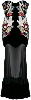 Alexander McQueen Medieval embroidered gown
