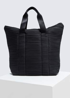 Pleats Please Issey Miyake Large Quilting Pleats Bag