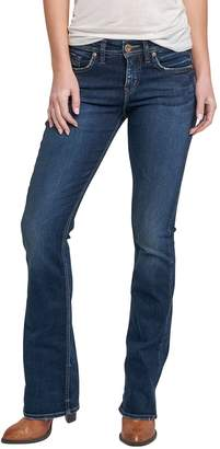 Silver Jeans Co. Women's Avery Curvy Fit High Rise Slim Bootcut Jeans