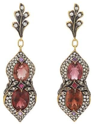 Cathy Waterman Women's Mixed-Gemstone Drop Earrings