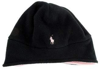 Ralph Lauren Fleece Beanie Hat Black Fleece Beanie Hat