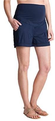 Seraphine セラフィン マタニティパンツ Marietta コットンマタニティショートパンツ イギリスサイズ6 ネイビー