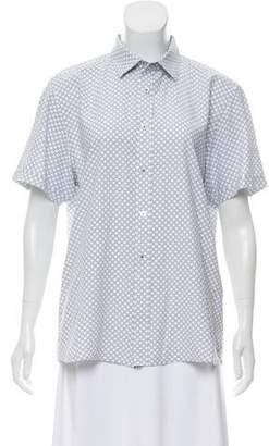 Ted Baker Printed Short Sleeve Top