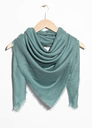 And other stories Triangle Scarf
