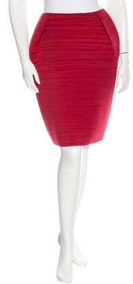 Lanvin Plissé Mini Skirt