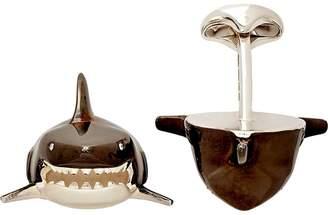 Deakin & Francis Men's Shark-Head Cufflinks