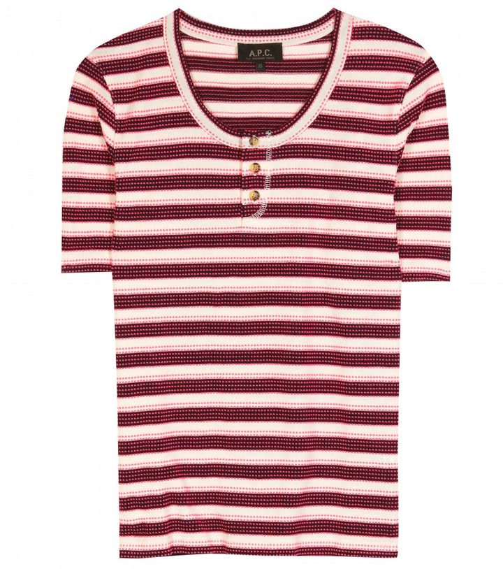 A.P.C. Tunisien striped top
