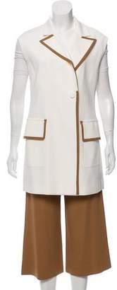 Agnona Notch-Lapel Vest Set