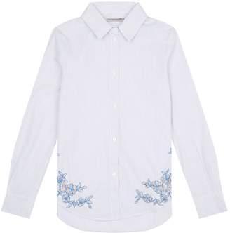Ermanno Scervino Floral Trim Shirt