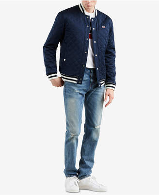 Levi's Limited: Old School Men's Reversible Bomber Jacket, Created for Macy's