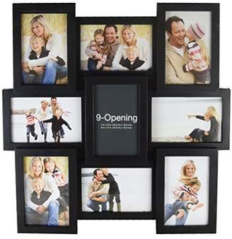 MELANNCO 51844034 9-Opening Puzzle Collage Picture Frame