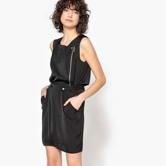 Kaporal 5 Short, Sleeveless Printed Shift Dress