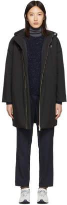 A.P.C. Black Storm Parka Coat
