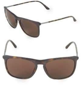 Giorgio Armani 55MM Square Sunglasses