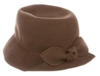 Eric Javits Wool Wide Brim Hat