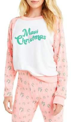 Wildfox Couture Maui Christmas Fiona-Crew