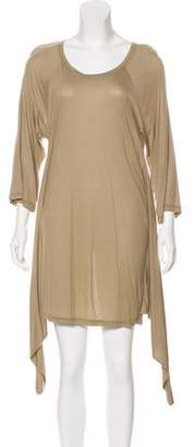 Hussein Chalayan Long Sleeve Mini Dress