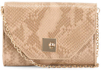 Vera Snake Print Convertible Belt Bag