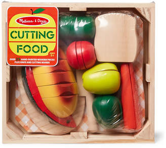 Melissa & Doug Wooden Cutting Food Set