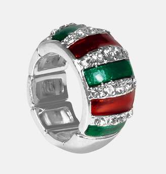 Avenue Holiday Sparkle Stretch Ring