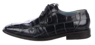 Mezlan Alligator Derby Shoes