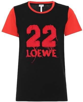 Loewe Cotton varsity T-shirt