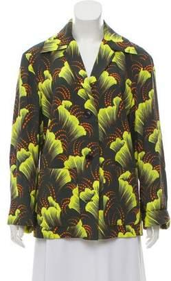 Dries Van Noten Printed Notch-Lapel Jacket