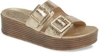 Pelle Moda Fatima Platform Slide Sandal