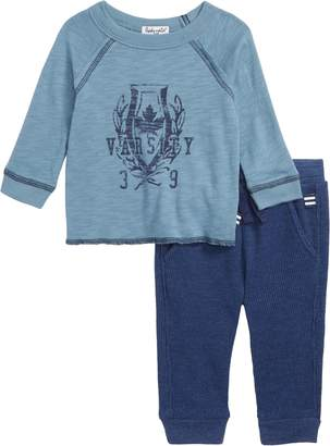 Splendid Raglan T-Shirt & Thermal Pants Set