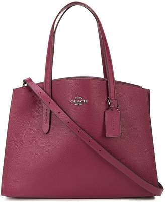 Coach Charlie carryall tote