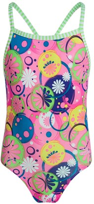 Dolfin Girls Uglies One-Piece Swimsuit - UPF 50+ (For Little and Big Girls) $14.99 thestylecure.com