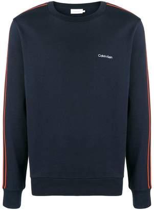 Calvin Klein stripe sweatshirt