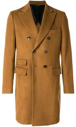 Tonello double-breasted fitted coat